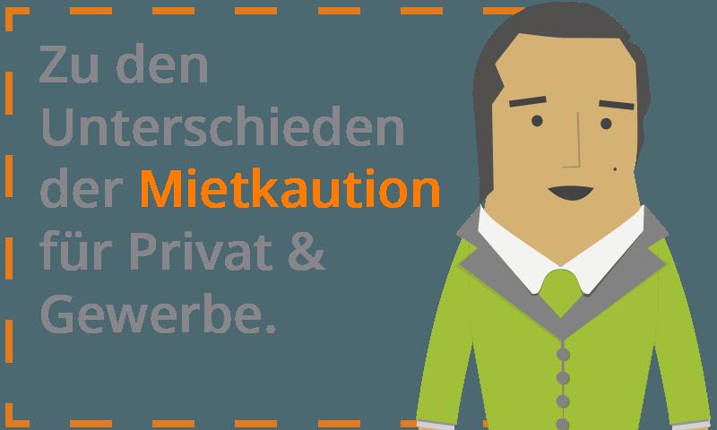 Mietkaution - Welche Unterschiede bestehen zwischen Privat und Gewerbe?