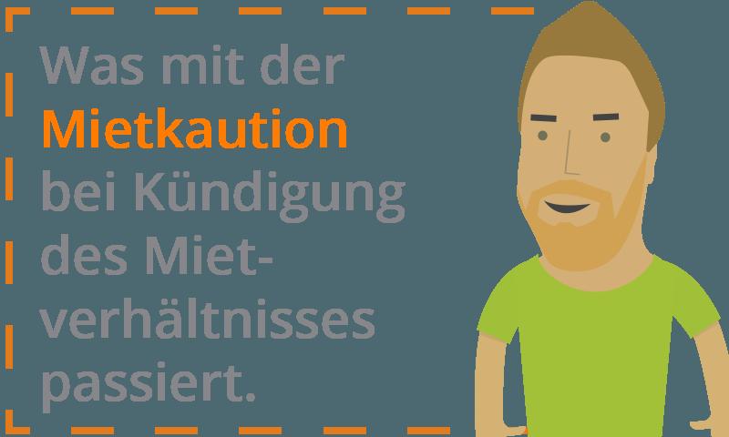 Mietkaution - Kündigung des Mietverhältnisses.